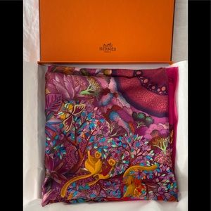 Brand new authentic Hermes scarf